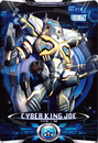 Ultraman X Cyber King Joe Card