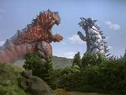 Neosaurus vs Clone Silvergon