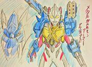 MetalGarurumon Armor