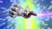 Tiga's rise in Ultraman Tiga Gaiden