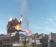 Daigarugu Energy Fire Bomb Blast