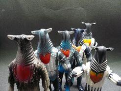 Alien Pegassa toys