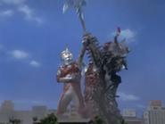 Ace dislodging Barabas's mace