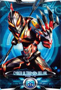Ultraman X Cyber Ultraman Belial Card