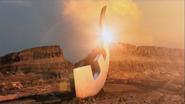 Eye Slugger sunset