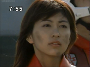 Mizuki sad when she thinks Kaito sacrificed himself