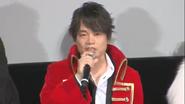 Kazuya in an interview