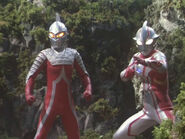 Seven and Mebius