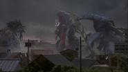 King of Mons and Bargis v Ultraman Gaia
