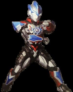 Ultraman orb lightning attacker suit render by zer0stylinx-db29nyl