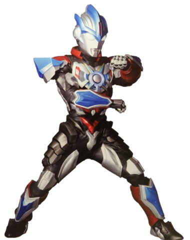 File:Ultraman orb lightning attacker suit render by zer0stylinx-db29nyl.png