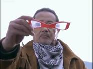 Dan with Ultra Eye in Mebius