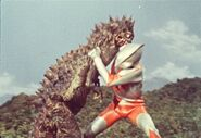 Ultraman vs Bemlar
