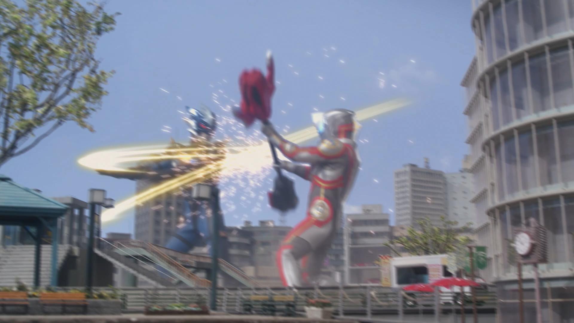 Ultraman R//B Ultra Kaiju Series 97 Grigio Regina