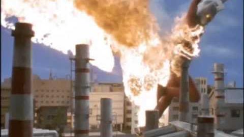 Fang Kaiju! Ultraman Taro vs Depparas