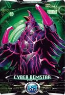 Ultraman X Cyber Bemstar Card