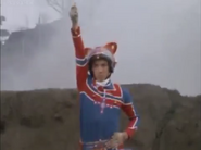 Kotaro transforms the first time