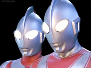 Ultraman & Jack in Mebius