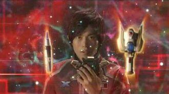 Ultraman X The Movie Beta Spark Armor clip