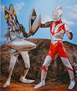 Ultraman vs Baltan