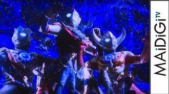 「ウルトラマンオーブ」の主題歌は水木一郎!OP映像も公開 特撮ドラマ「ウルトラマンオーブ」製作発表会3 Ultraman Orb Ichirou Mizuki