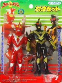 Yutaka Set Ultraman Zearth 2 VS