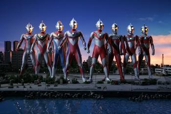 Superior ultraman 8 brothers