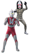 Ultraman with Dada