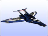 GUTS Wing Blue Tornado