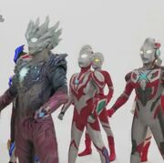 Ribut among Ultraman