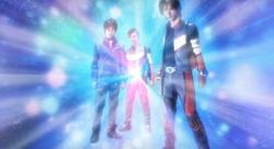Cahaya Batin Asuka, Musashi dan Taiga