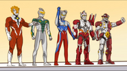 Wooser x Ultraman Zero 5