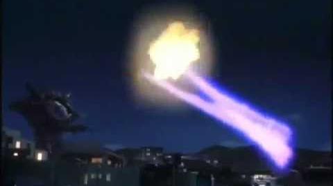 Ultraman Gaia vs Gan Q Code 2-0