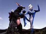 Eligal v Ultraman Cosmos