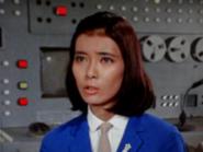 Akiko blue suit