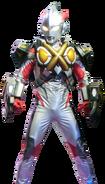 Ultraman X Zetton Armor Render