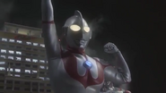 Ultraman appears in Ultraman X The Movie