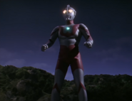Ultraman arrives (Tiga)