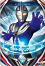 Ultraman Orb Ultraman Agul Fusion Card