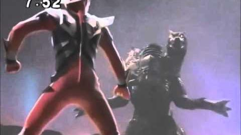 Ultraman Nexus vs Galberos