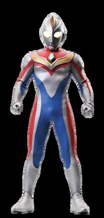 Ultraman Dyna data