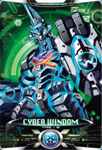 Ultraman X Cyber Windom Card
