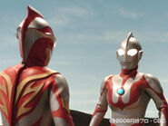 Mebius & Original Ultraman