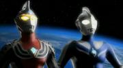 Ultraman Cosmos vs Justice The final battle