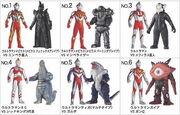 プレイヒーローVS ウルトラマン対決セット メビウス最終決戦編
