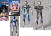 Imit ultraman dyna figure view