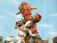 Ultraman vs Fire