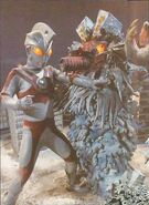Ultraman vs Snowgiran