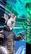 Alien Mefilas old, two