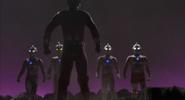Robot Seven dan Ultra Brothers